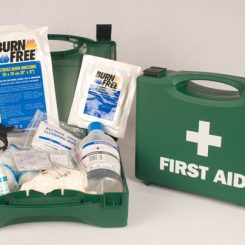 First Aid Kits & Cabinets